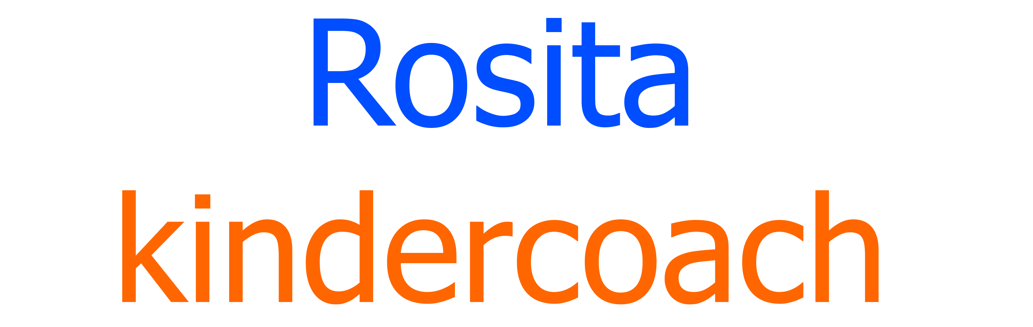 Rosita Kindercoach
